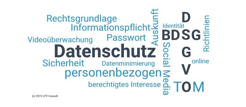 Datenschutz Begriffe