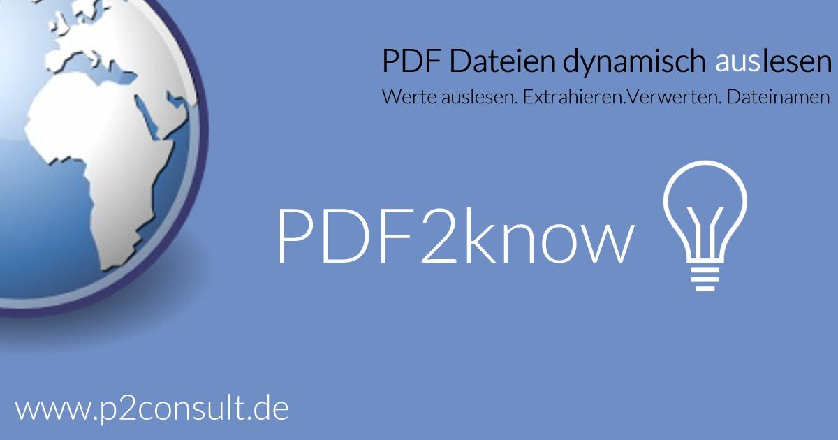 PDF2know Logo