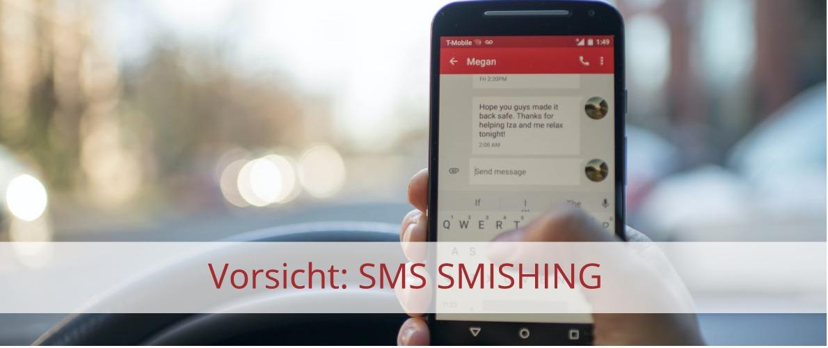 SMS Smishing SPAM